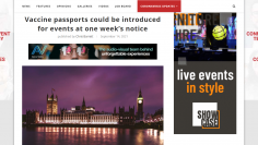 FireShot Capture 282 - Vaccine passports could be introduced for events at one week's notice_ - exhibitionnews.uk